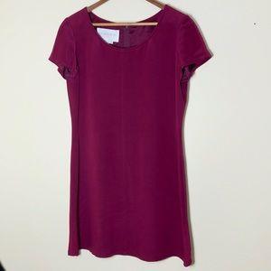 🔵Vintage Hugo Buscati Collection Silk Sheath Dres